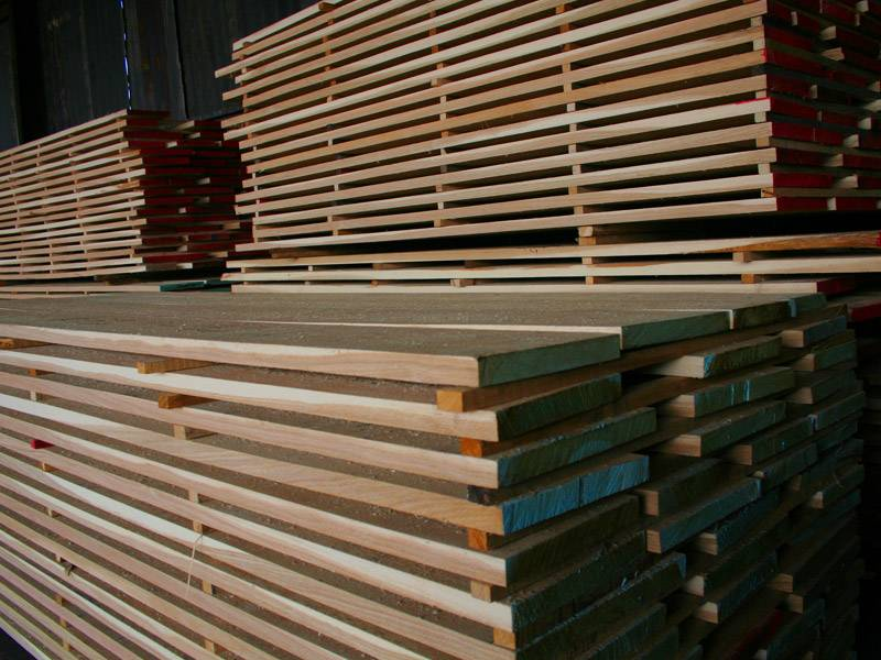 Edged lumber